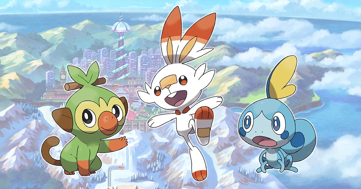 Oznámeny Pokémon Sword a Pokémon Shield