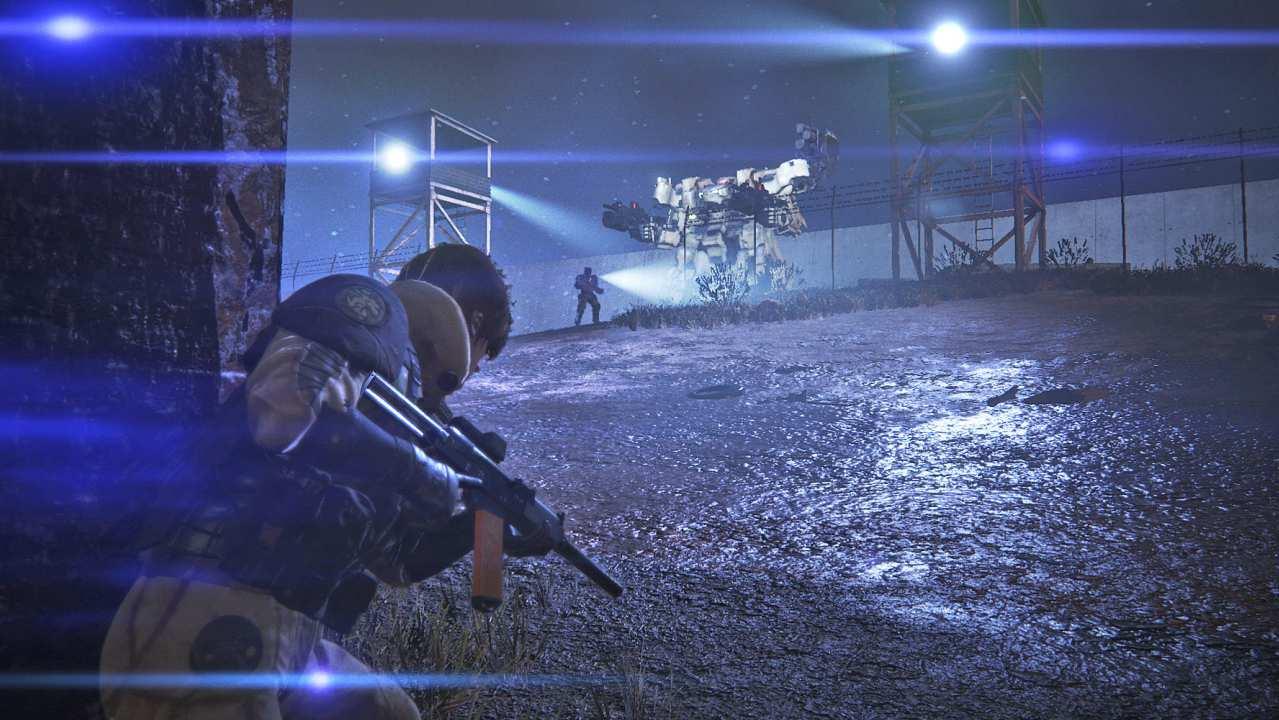 Left Alive ve čtvrt hodinovém gameplay videu