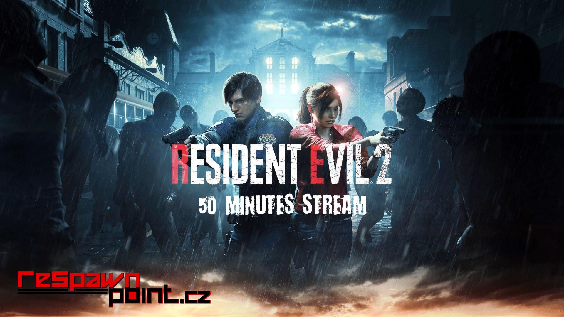 Resident Evil 2 – První hodina hraní (Stream)