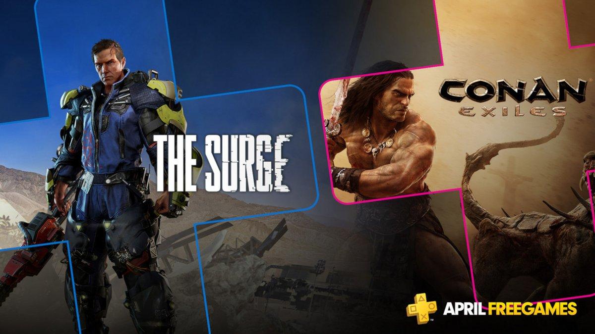 Oznámeny dubnové hry pro Playstation Plus