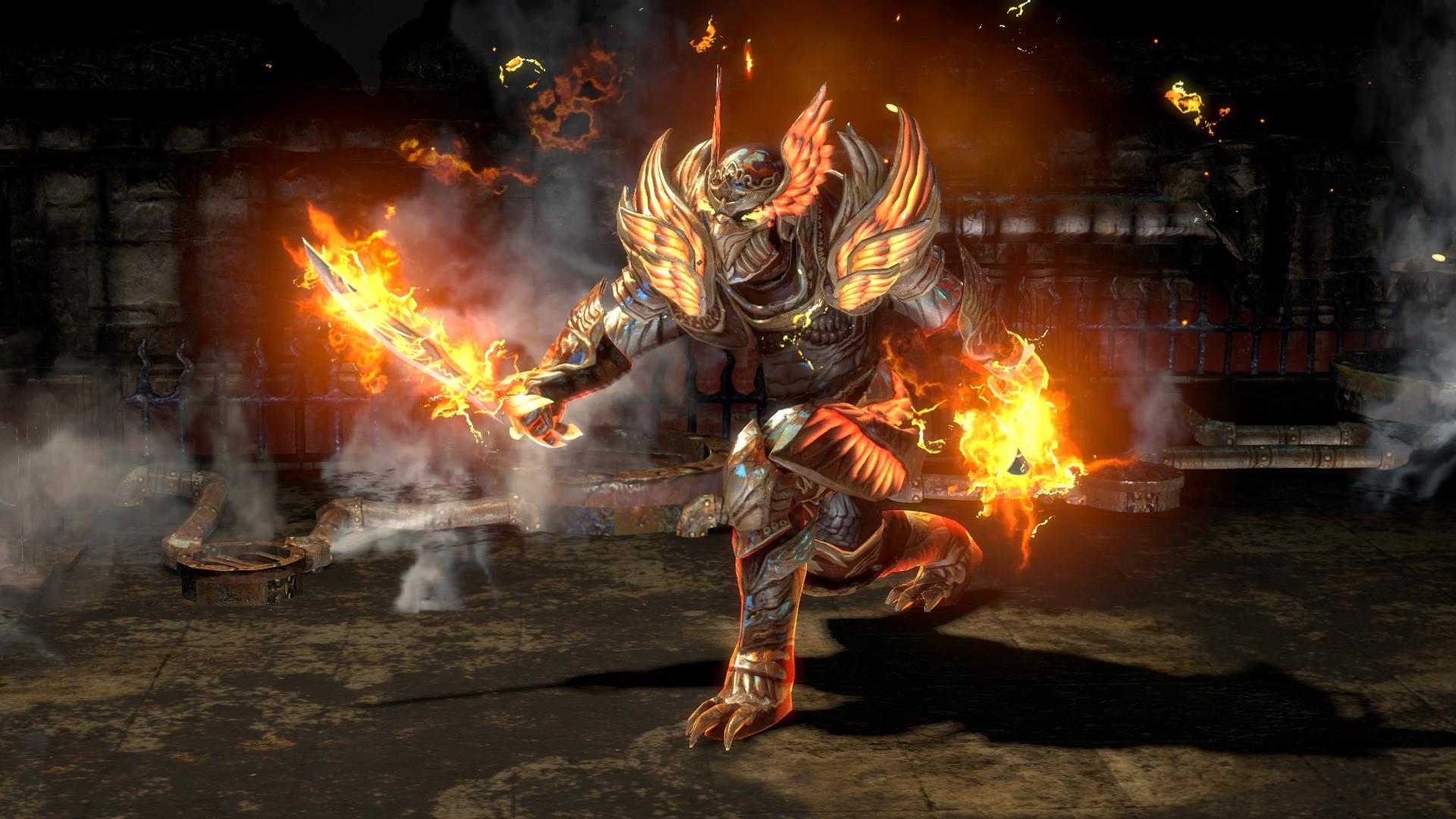 Path of Exile pro PS4 vyjde koncem března