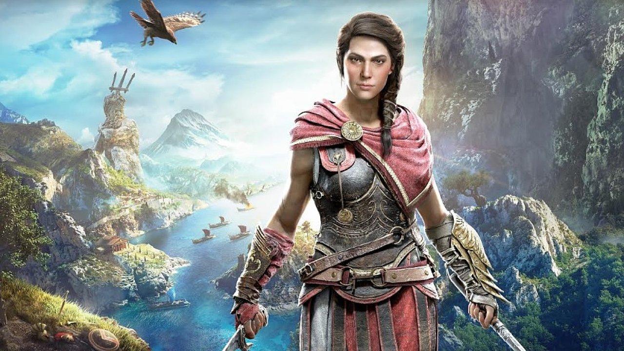 Příští týden vyjde první část DLC The Fate of Atlantis pro Assassins Creed Odyssey