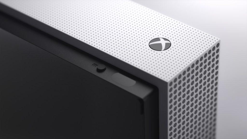 Xbox One S bez mechaniky vyjde začátkem května