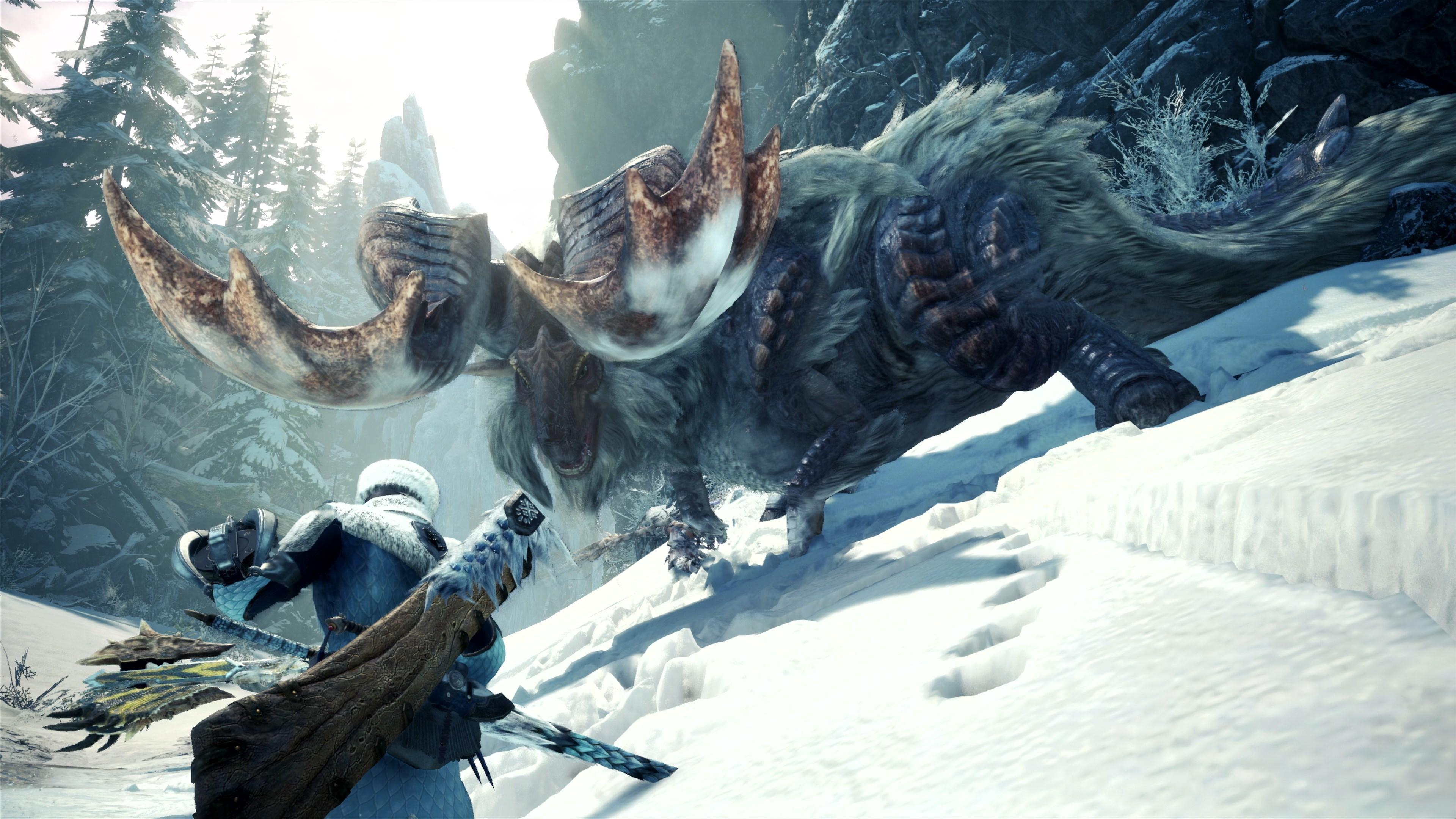 Představeno rozšíření Iceborne pro Monster Hunter World