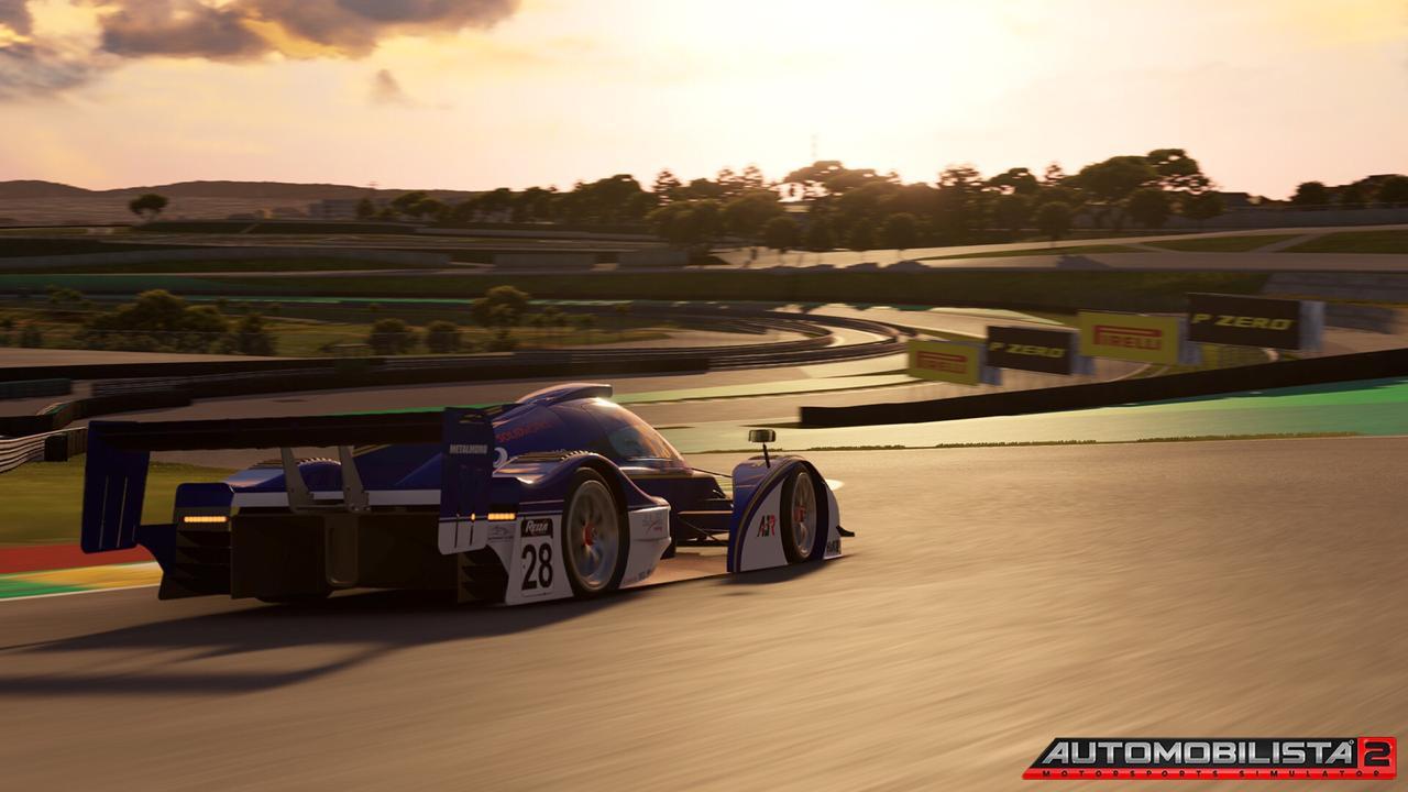 Oznámen závodní simulátor Automobilista 2