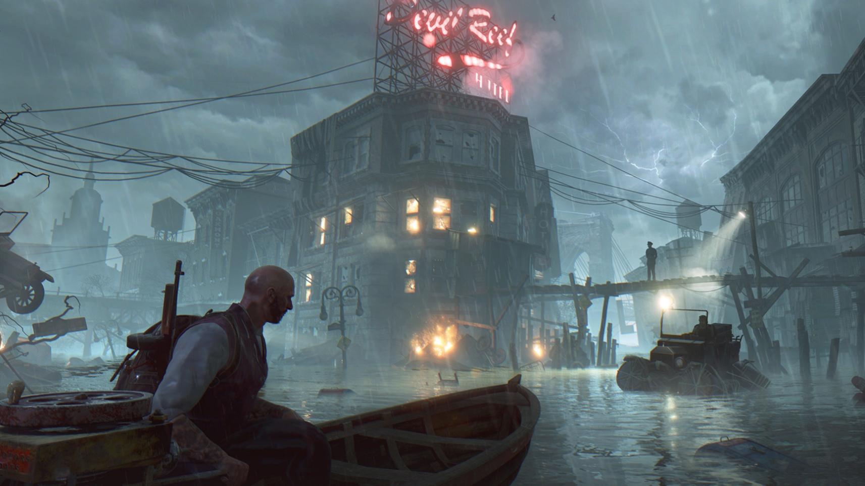 The Sinking City v novém gameplay videu