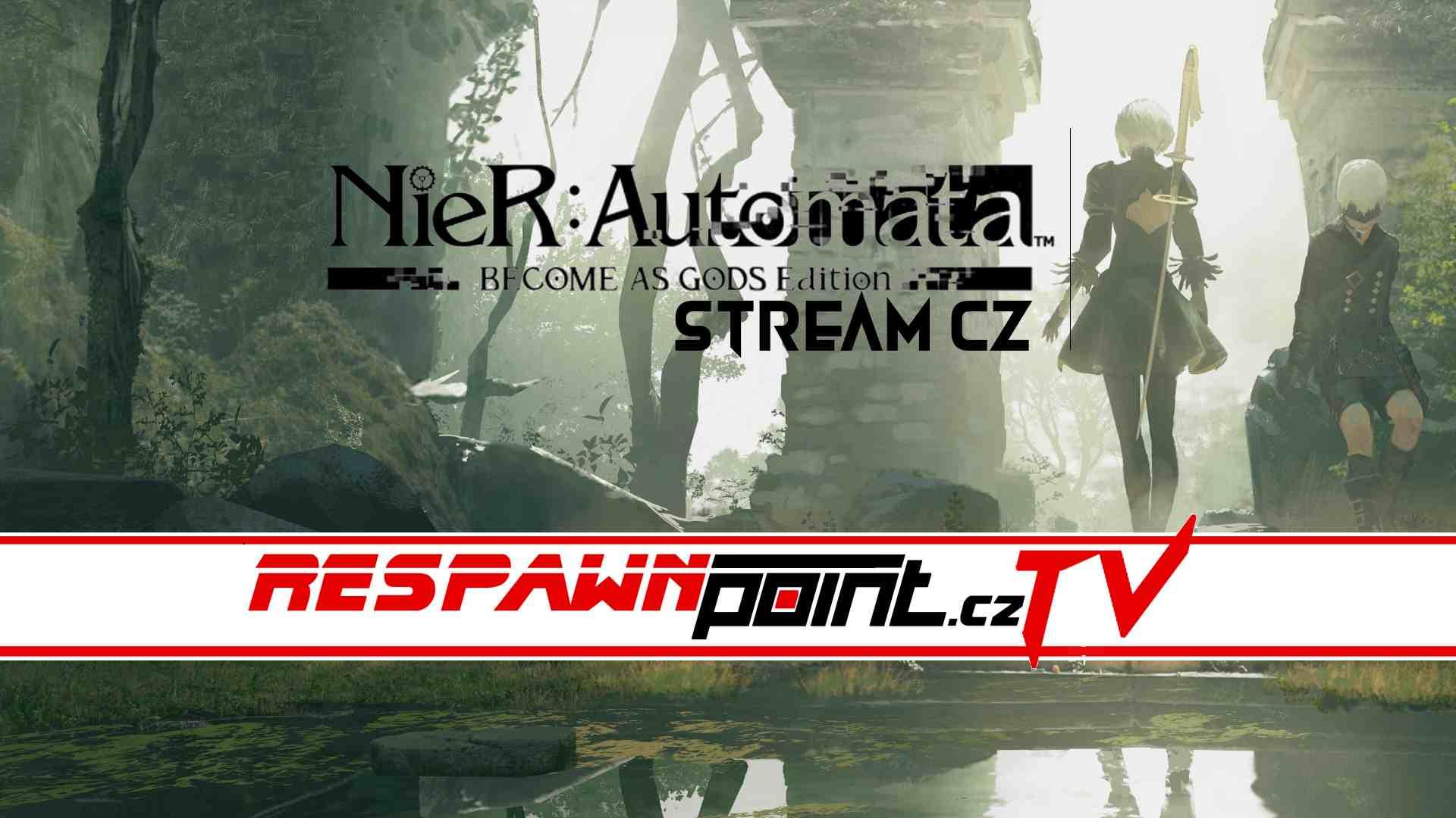 NieR Automata: Become as Gods Edition – Stream CZ