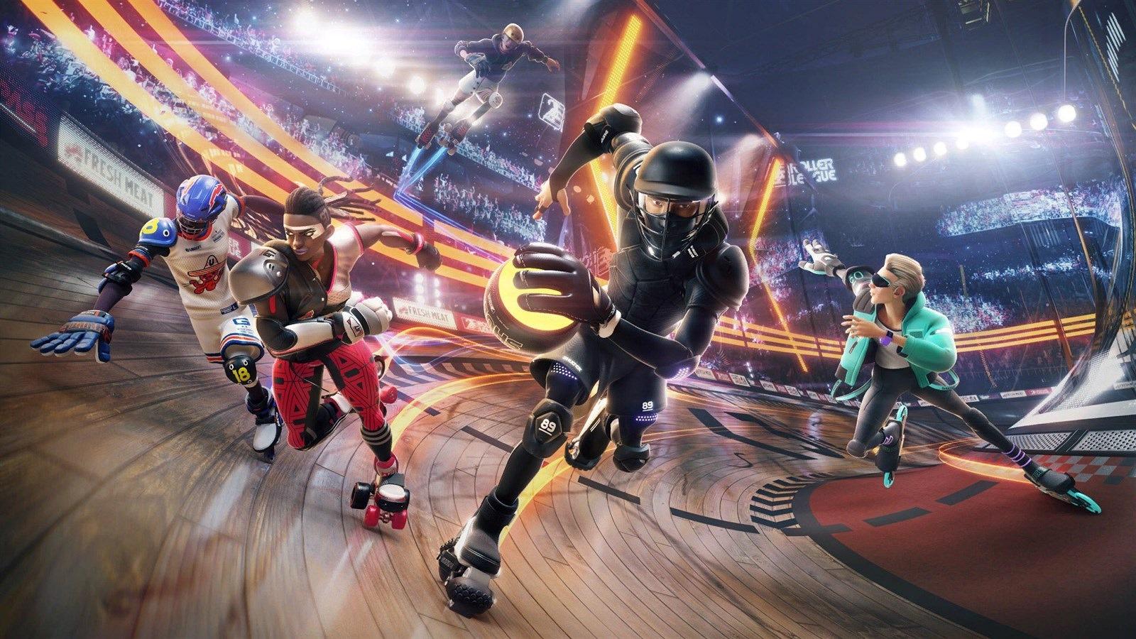 Ubisoftu uniklo oznámení hry Roller Champions