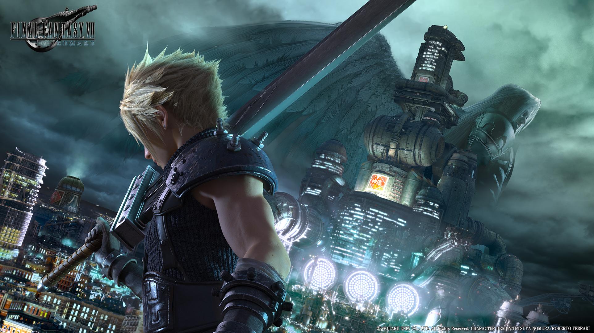 Remake Final Fantasy VII se připomněl v novém traileru