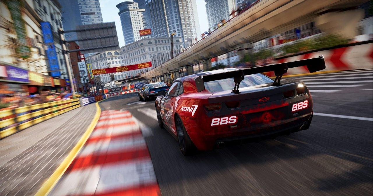 Nový GRID se ukazuje v prvním gameplayi