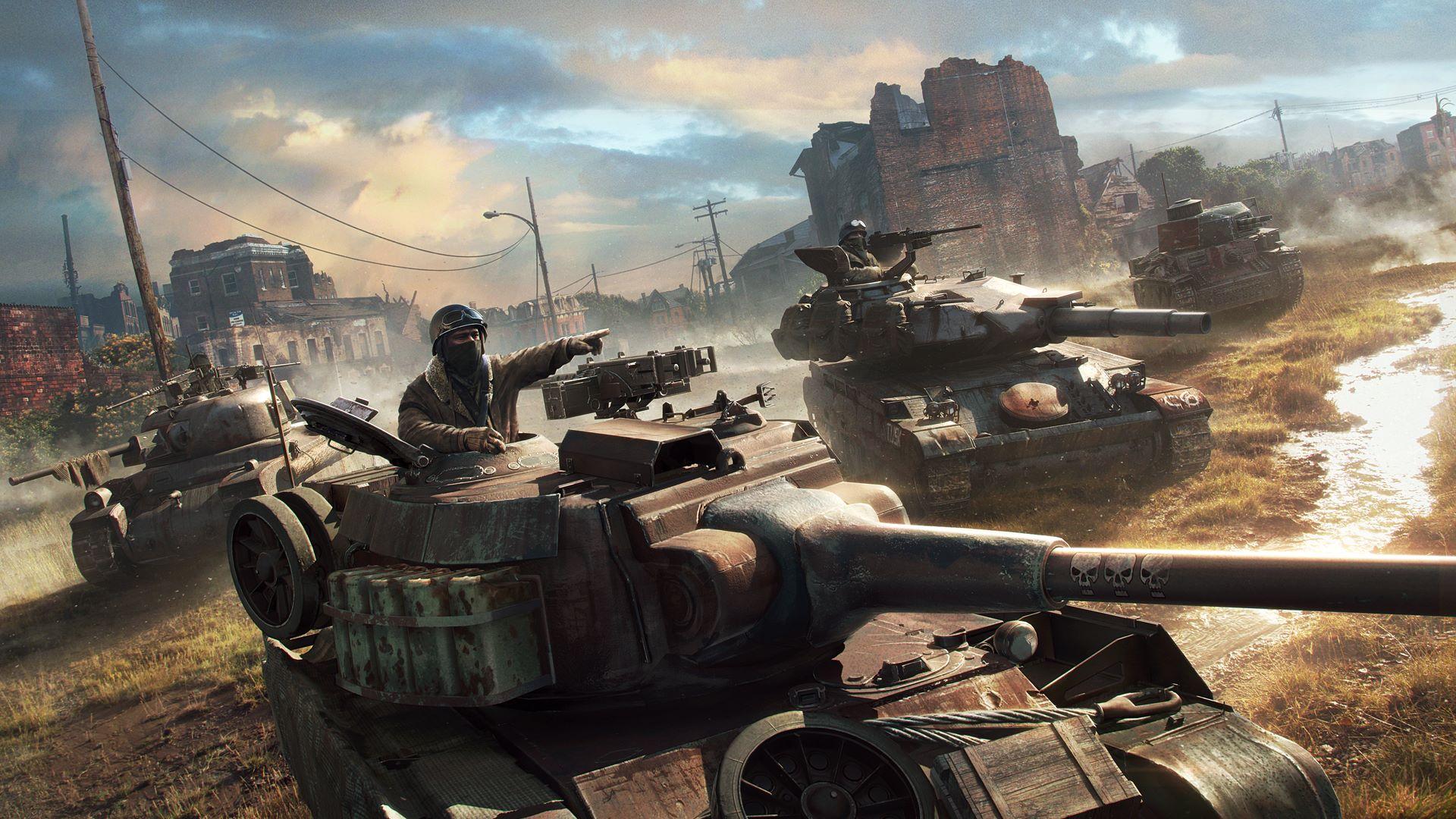 Oznámen velký update pro World of Tanks: Mercenaries