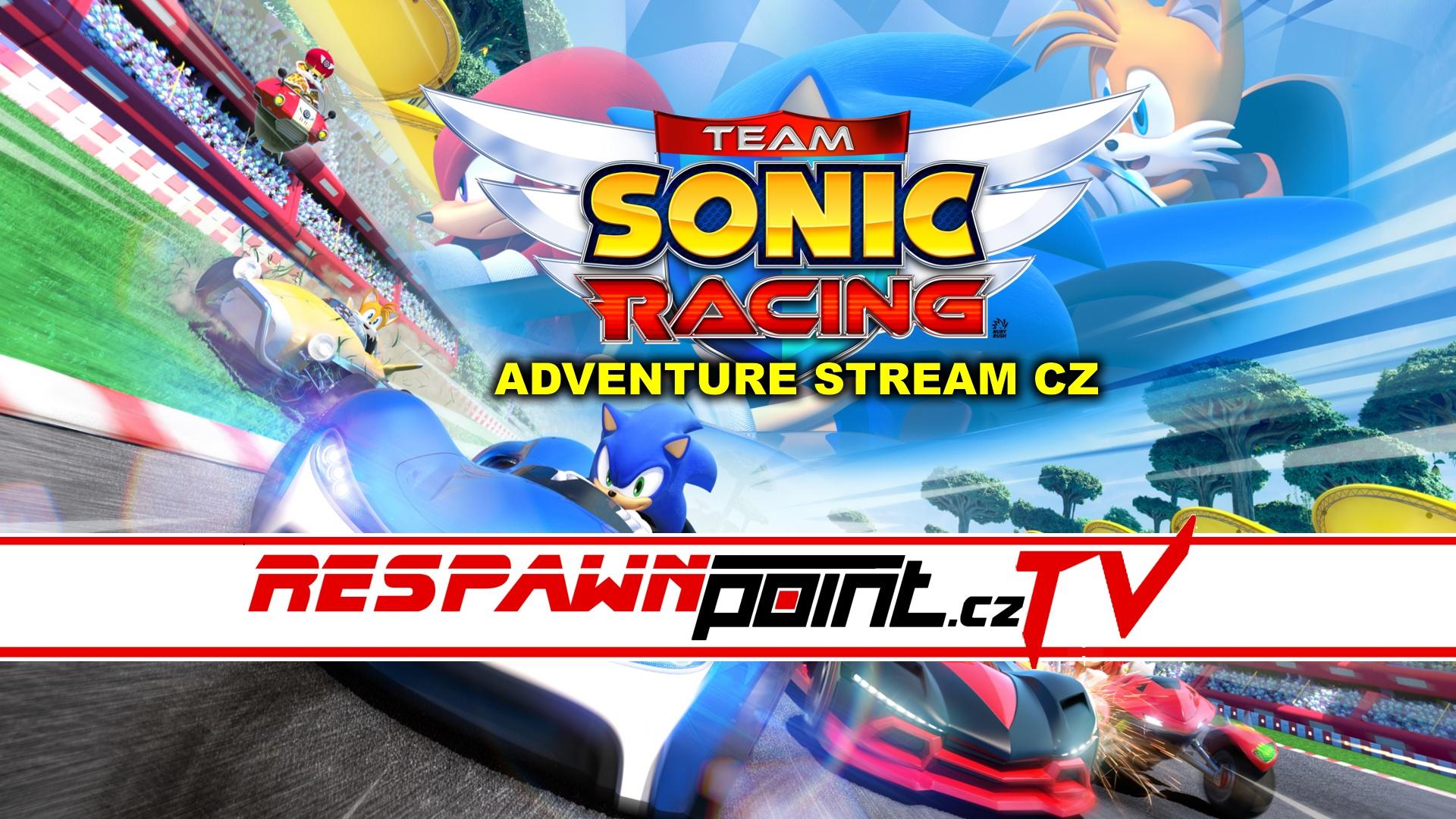 Team Sonic Racing – Adventure Stream CZ