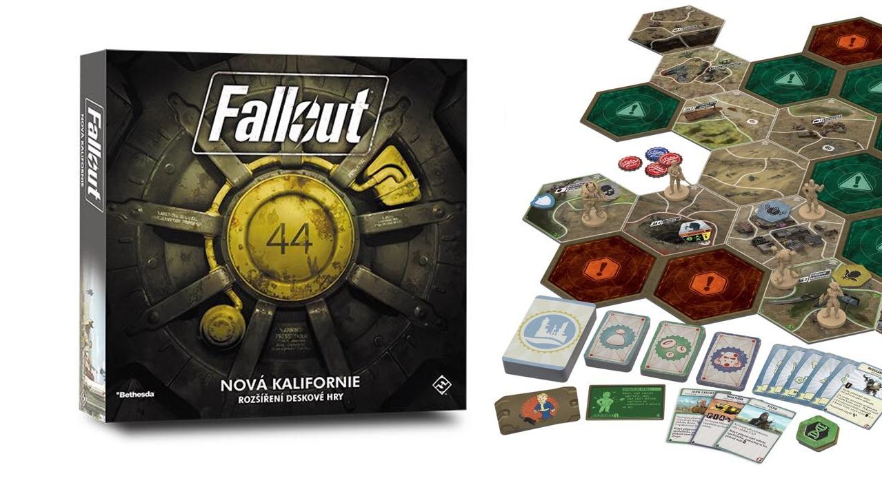 Rozšíření Fallout: Nová Kalifornie pro deskový Fallout koncem týdne