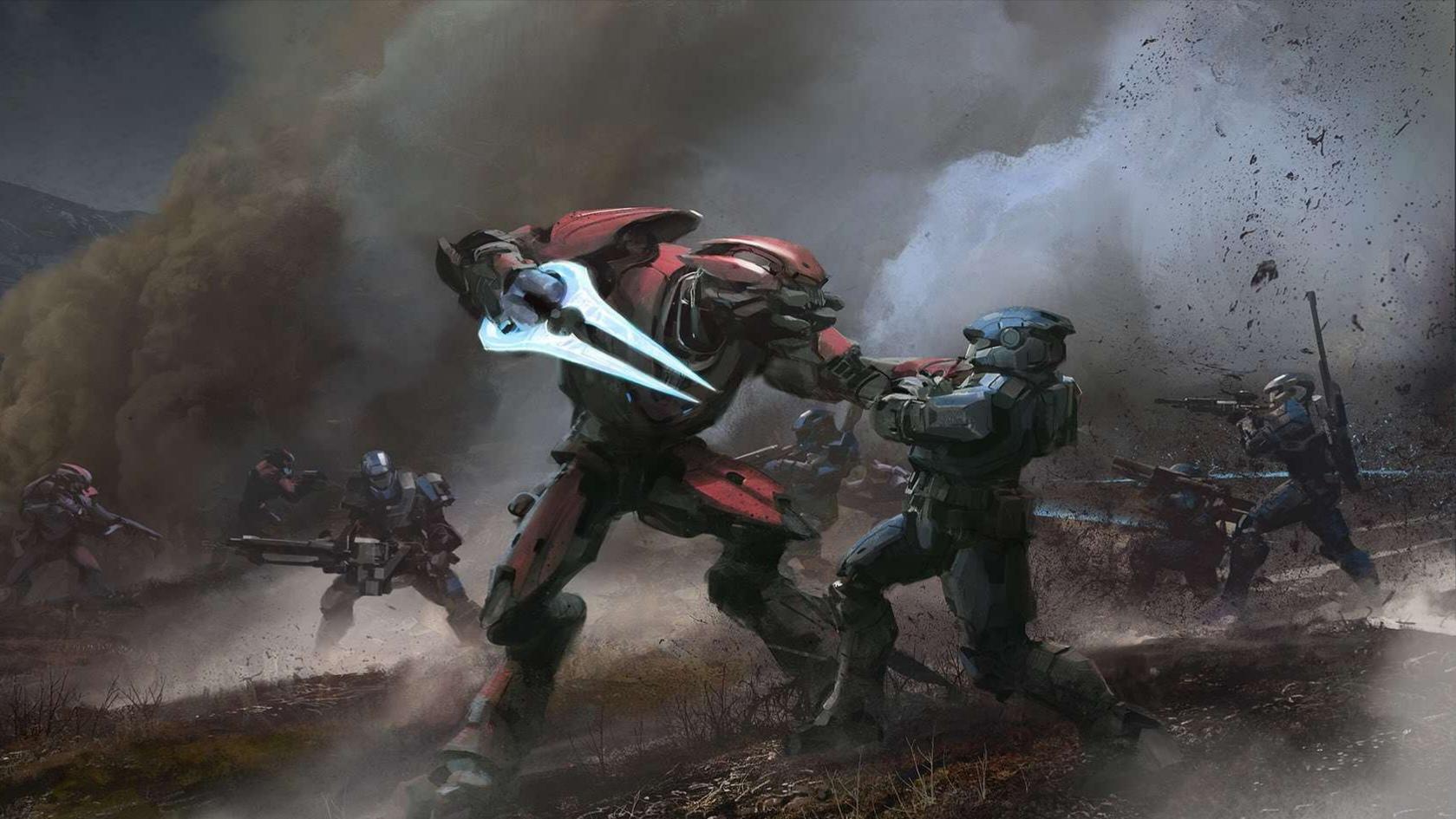 První záběry z Halo Reach pro Windows 10