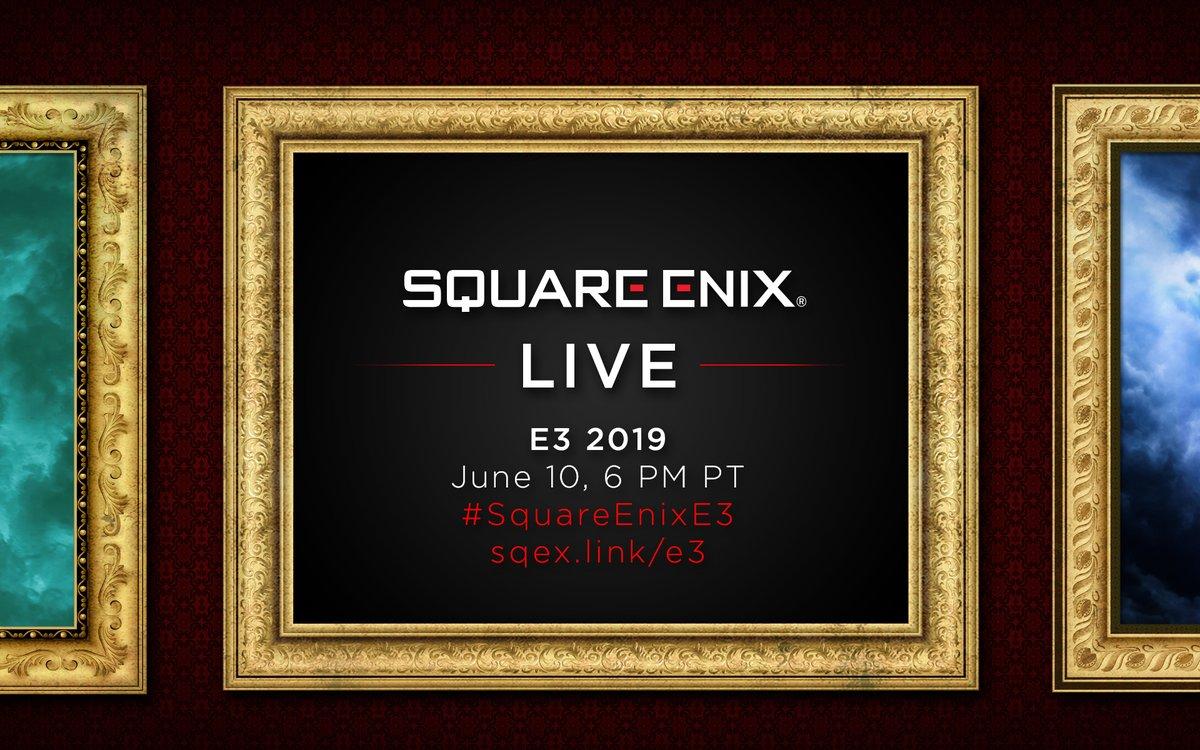 E3 2019 Square Enix Live Show – Report