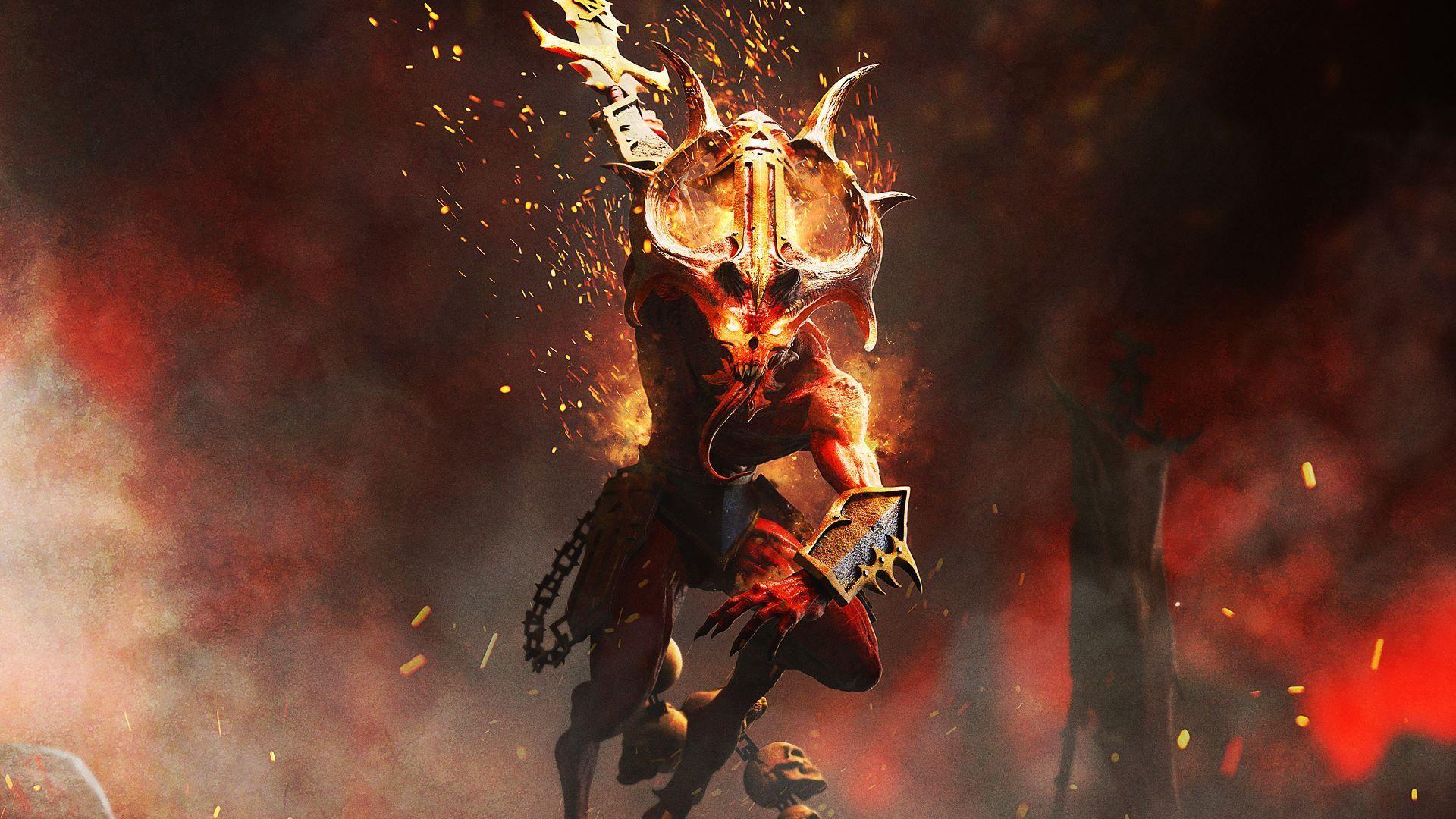 Vyšlo hack-n-slash rpg Warhammer Chaosbane