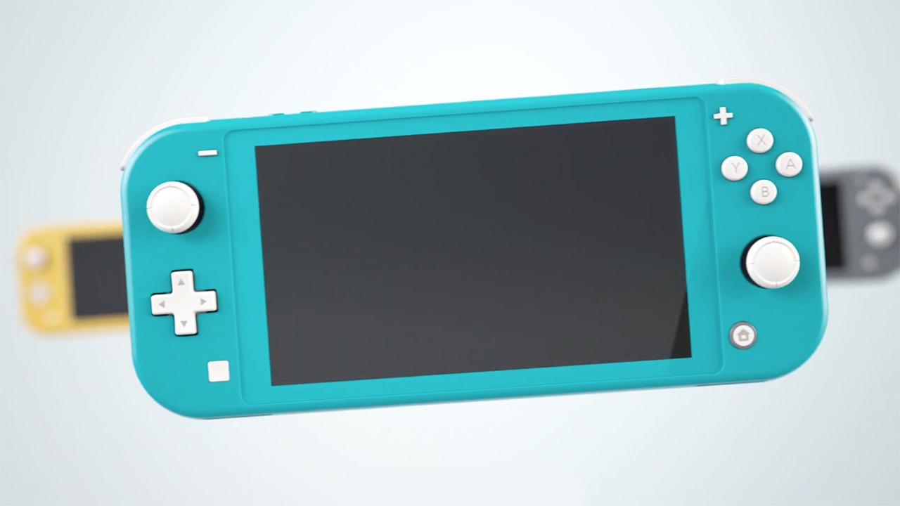 Oficiálně představeno Nintendo Switch Lite