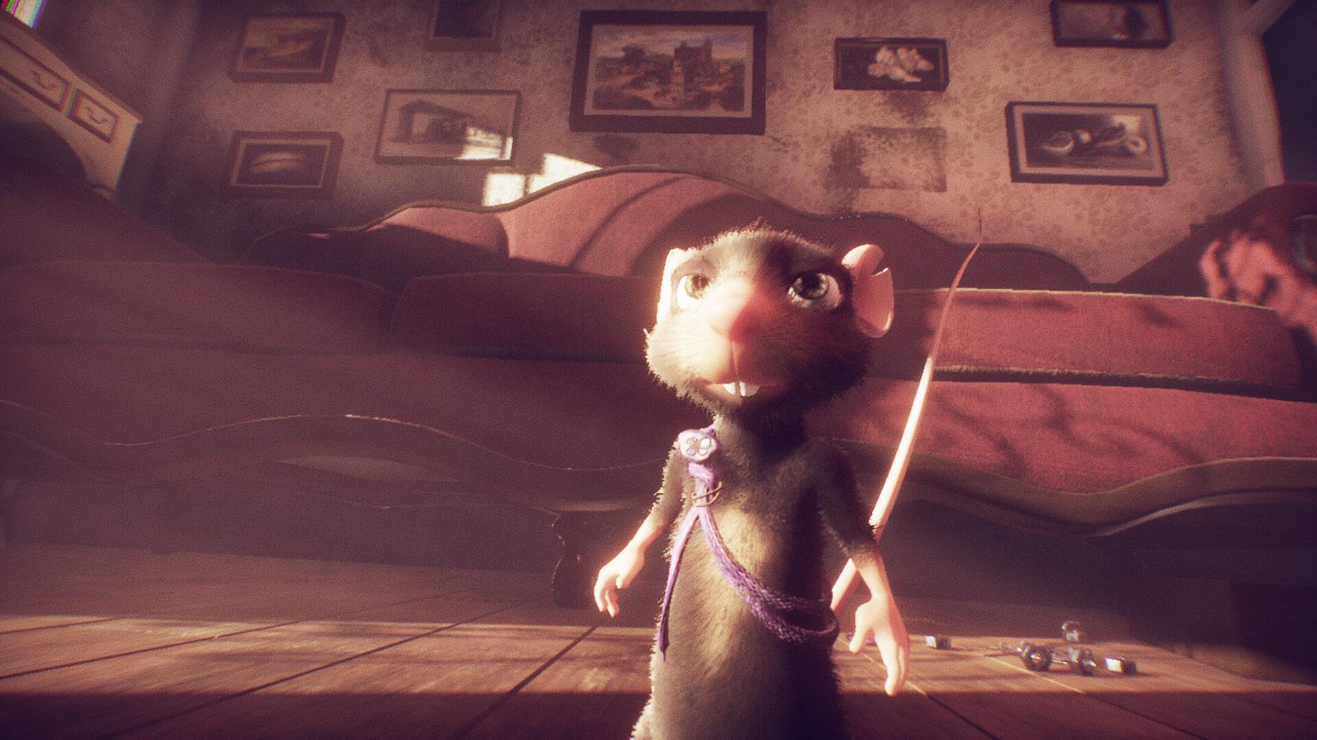 Oznámena adventura A Rat's Quest: The Way Back Home