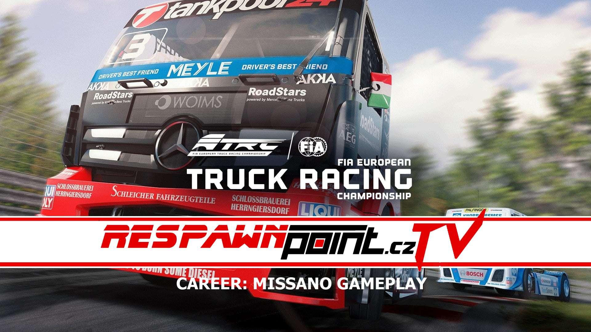 FIA European Truck Racing Championship – Career Missano Gameplay