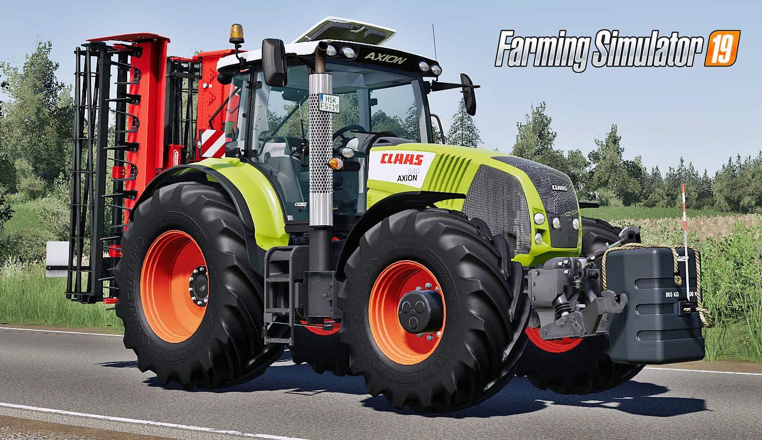 Farming Simulator 19 se rozšíří o stroje značky CLAAS