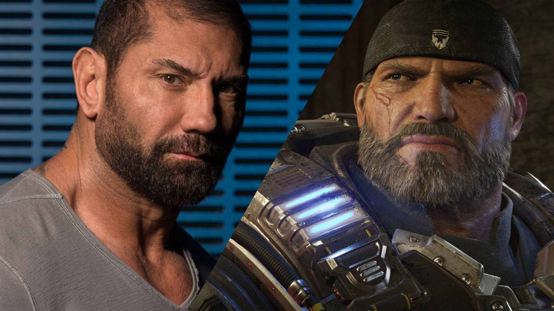 Dave Bautista jako možná tvář filmu Gears of War
