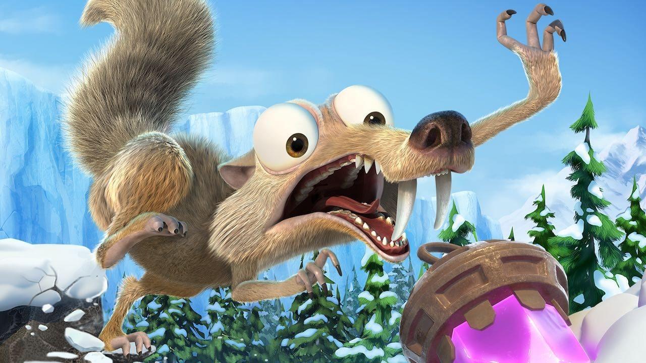 Oznámena hra Ice Age: Scrat's Nutty Adventure