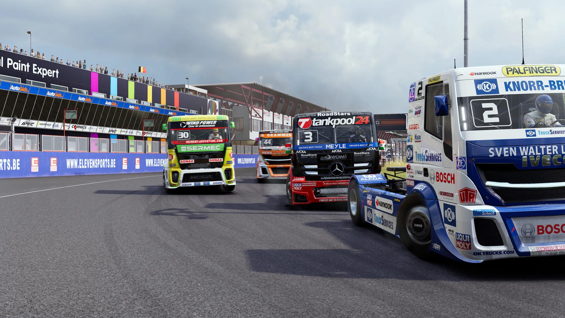 Přiblížena závodní hra FIA European Truck Racing Championship + trojice gameplay videí