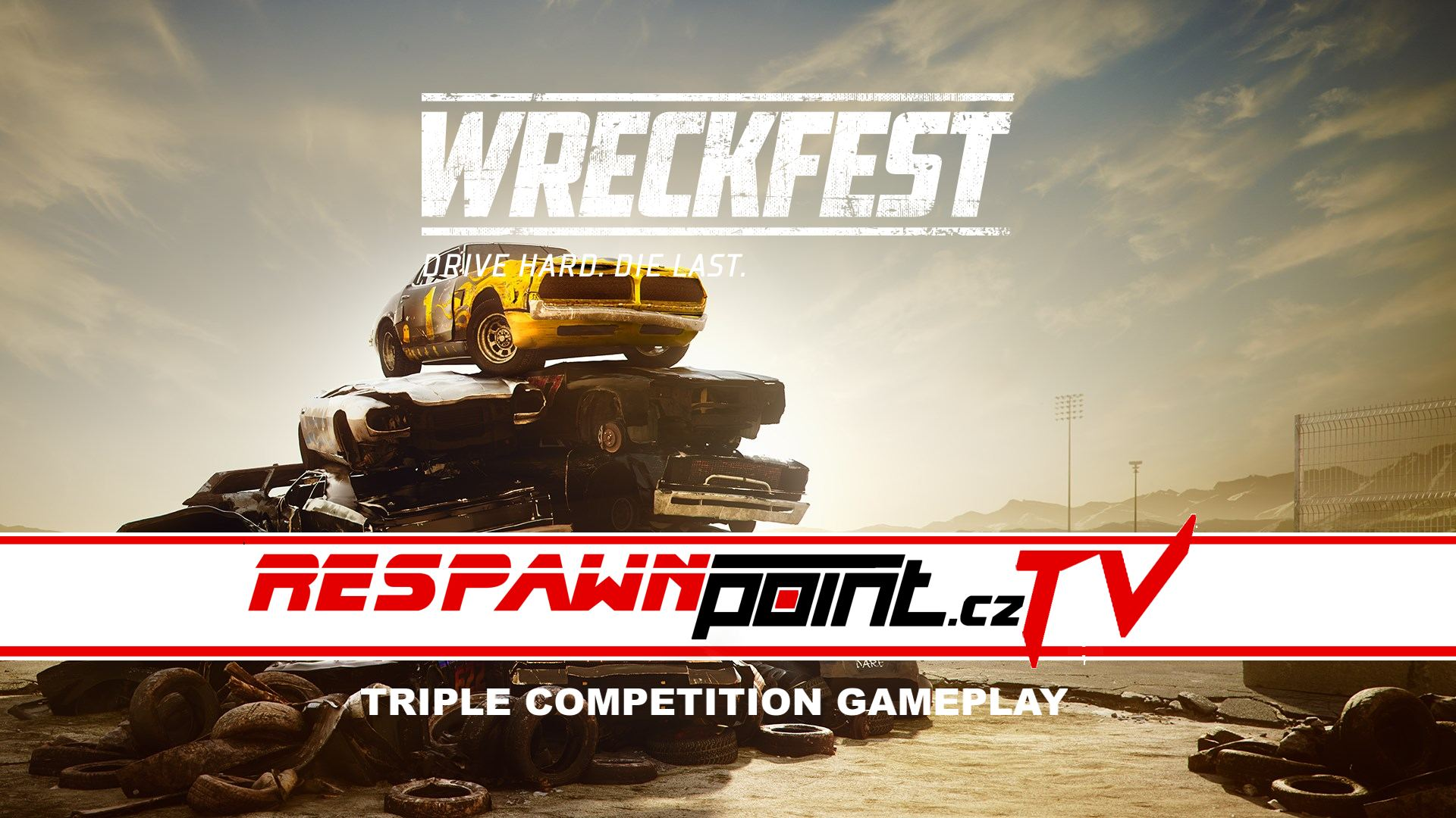 Wreckfest – Triple Competition Gameplay