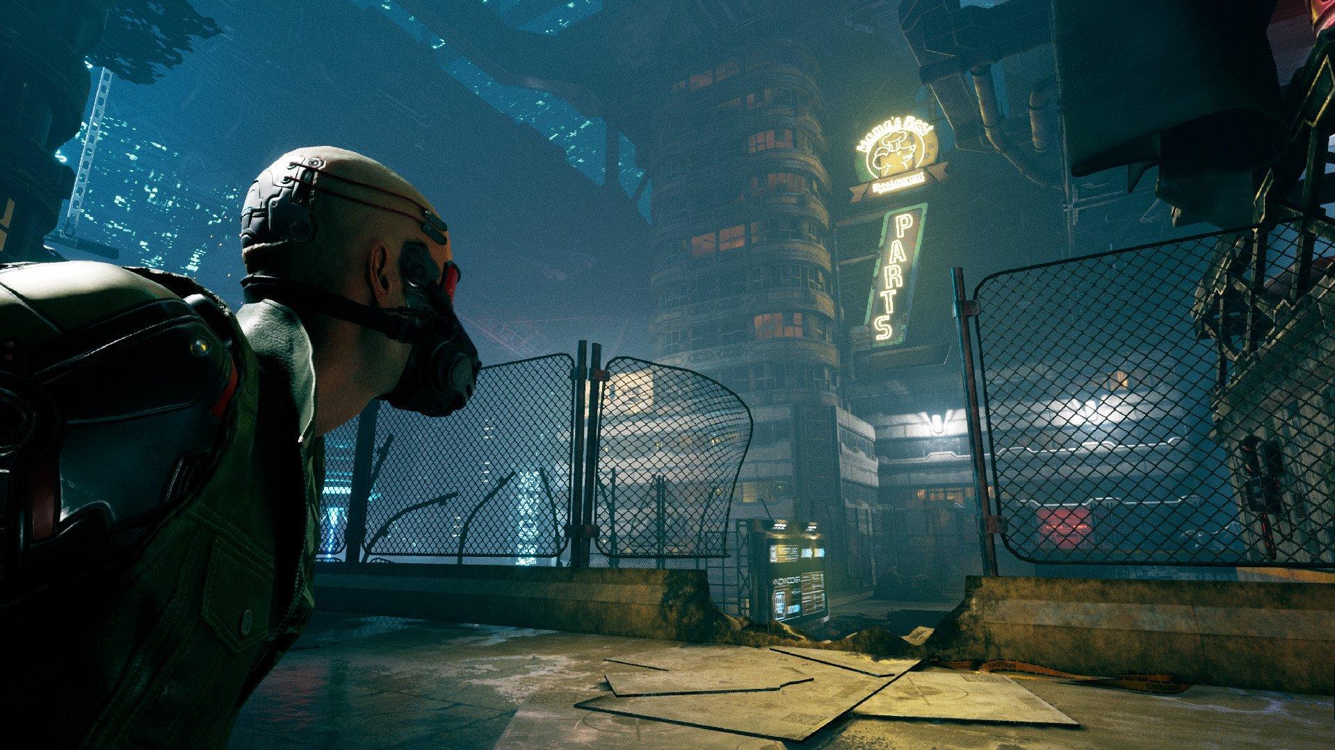 Oznámeno cyberpunkové fps Ghostrunner