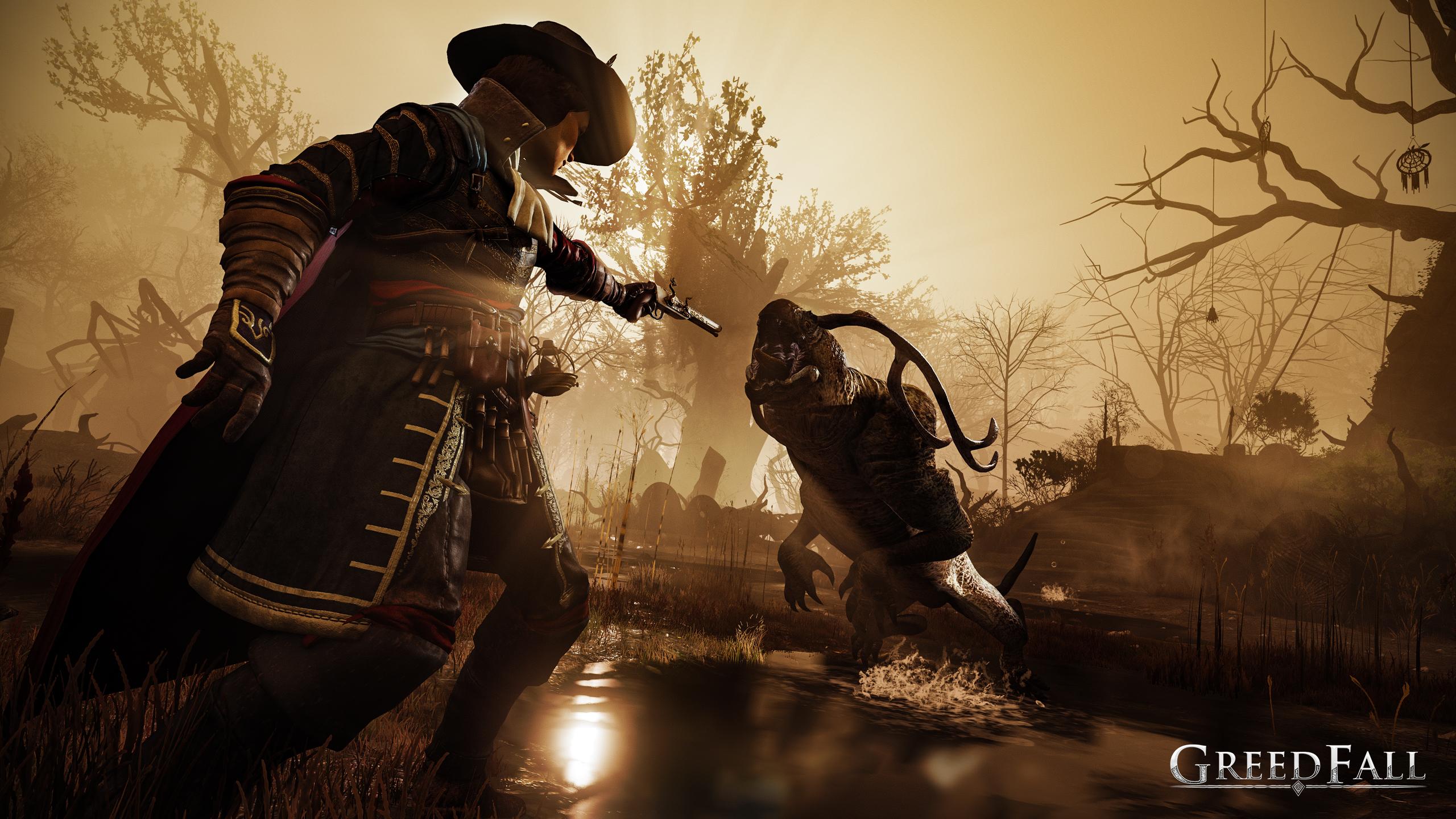 Greedfall v novém gameplay traileru