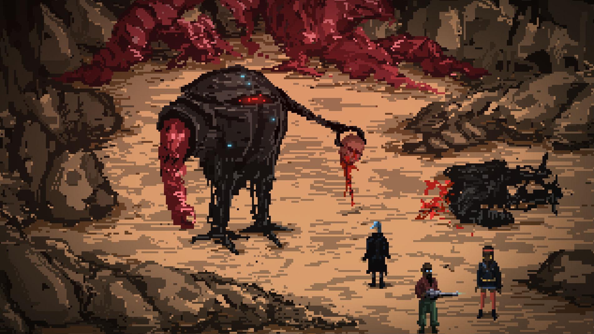 Oznámeno post-apokalyptické akční RPG Death Trash