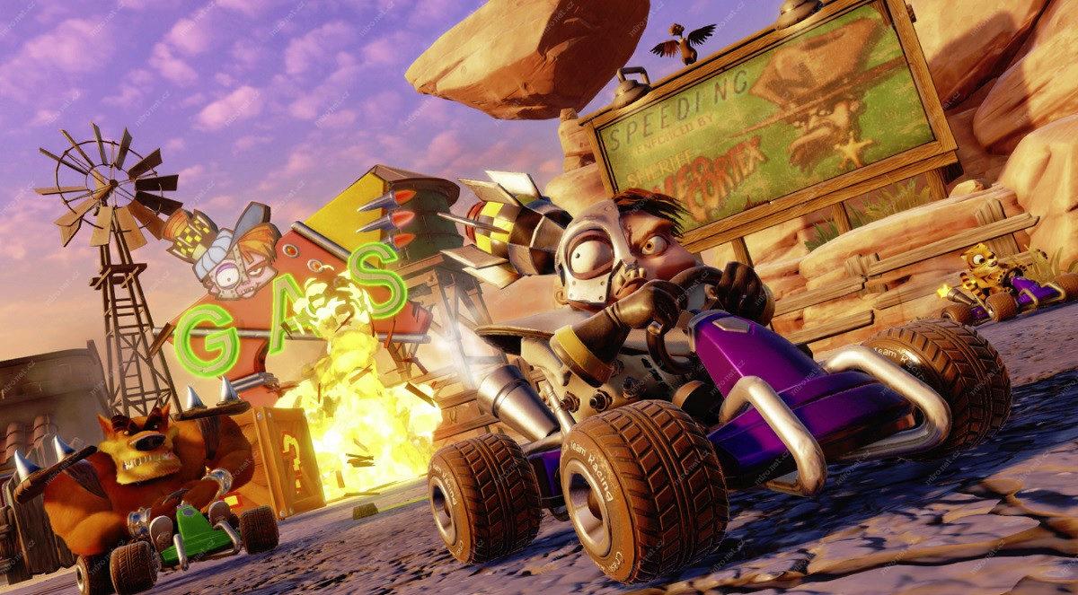 Crash Team Racing Nitro-Fueled dostane další tři sezóny