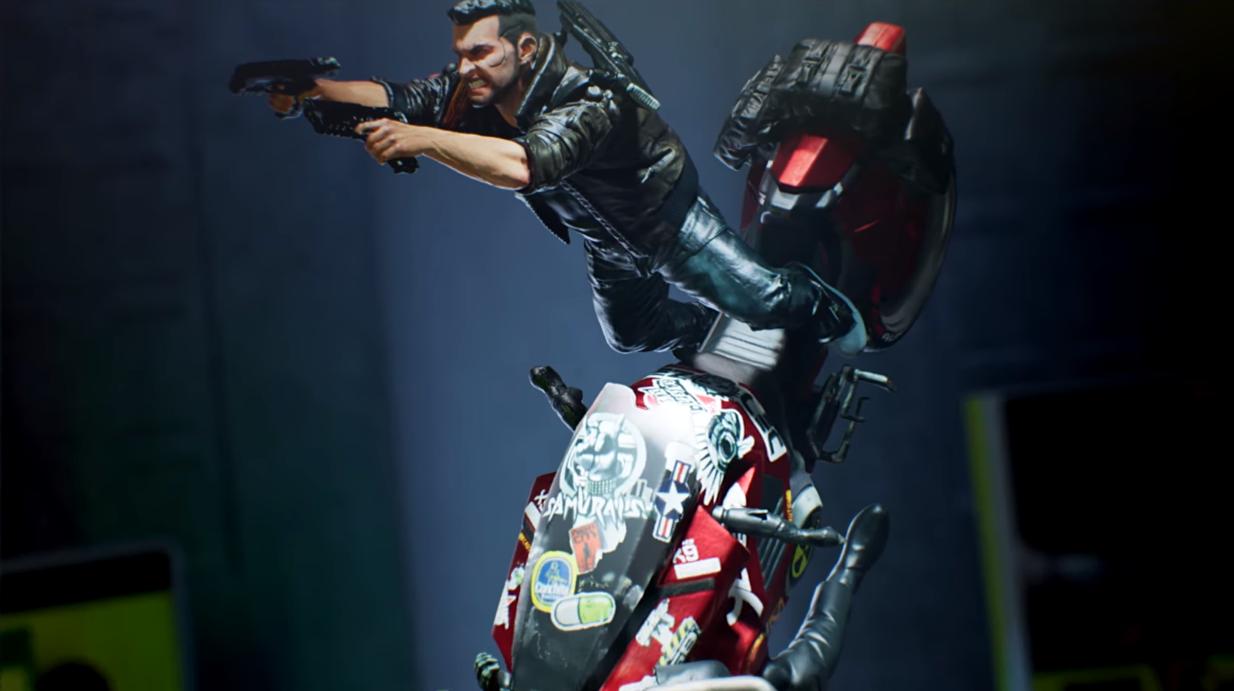 Podívejte jak vypadá soška ze Sběratelské edice Cyberpunku 2077