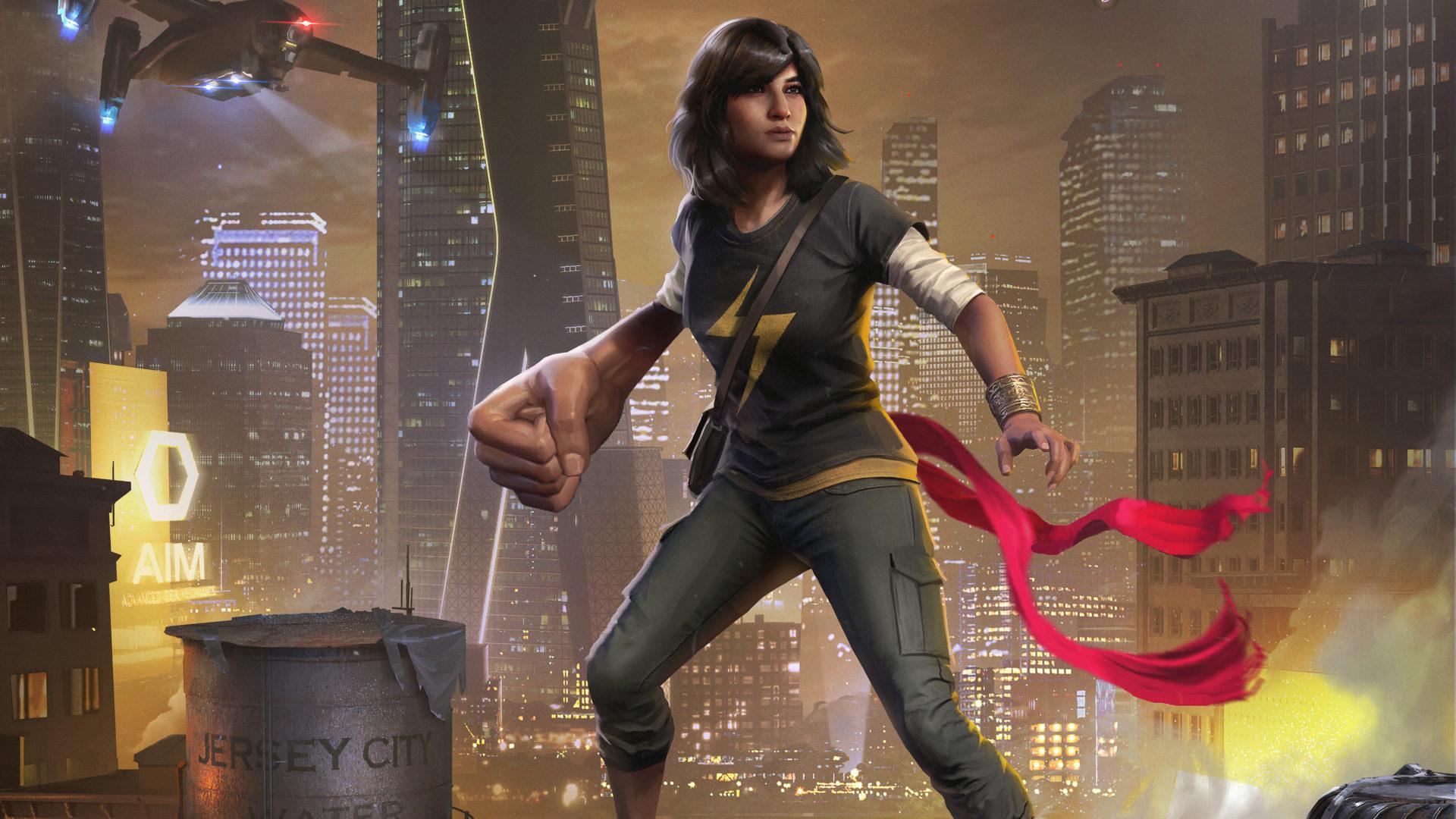 Postavy v Marvel's Avengers rozšíří Kamala Khan