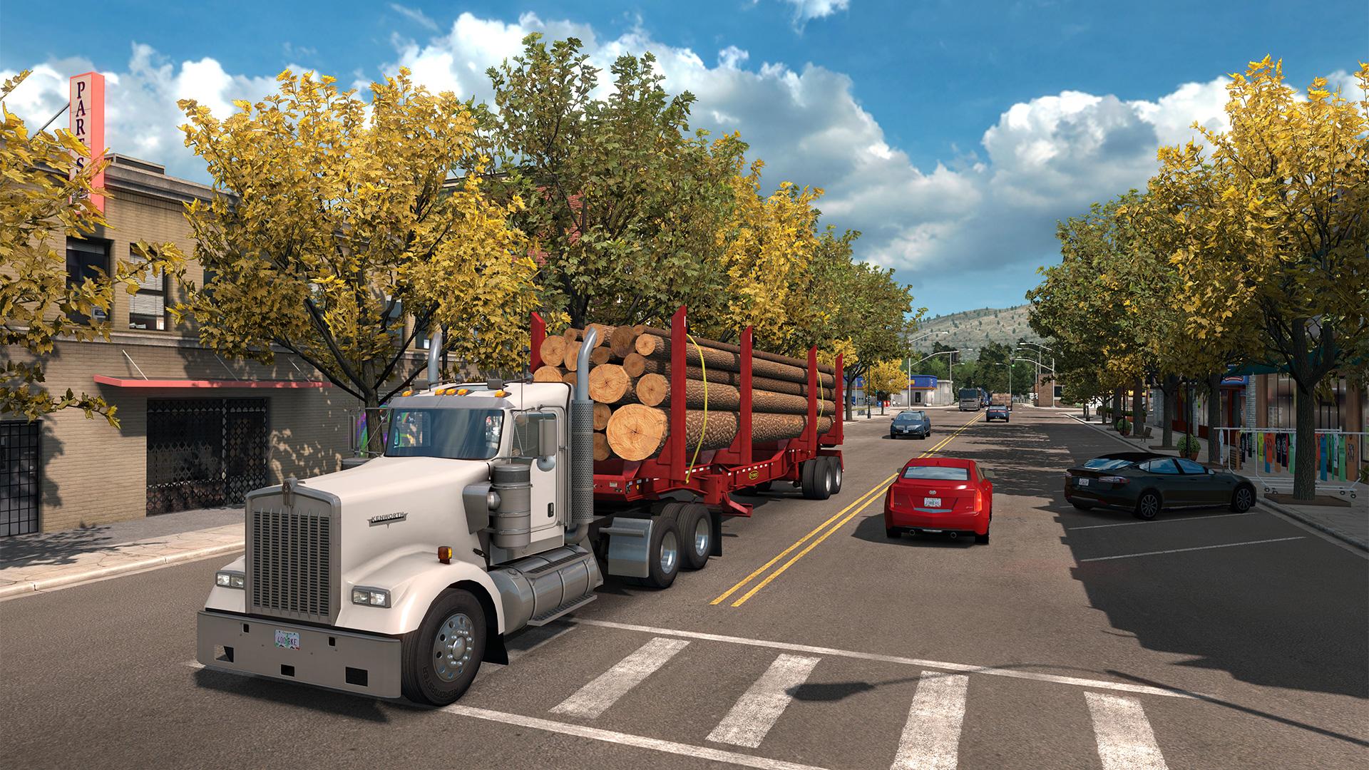 Vychází American Truck Simulátor: West Coast Bundle