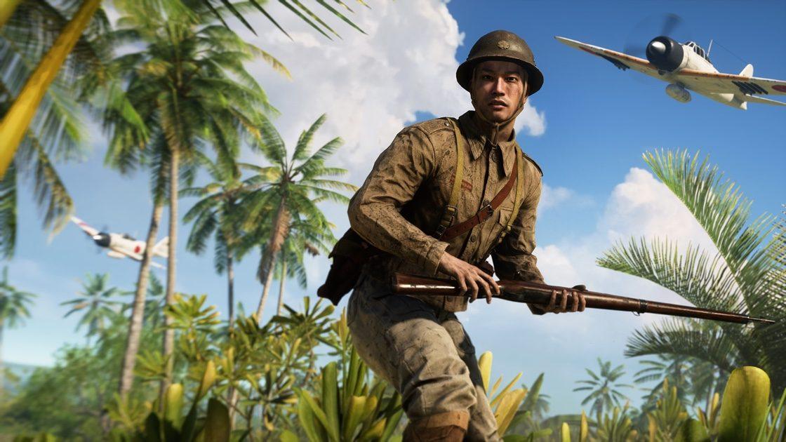 Oznámeno rozšíření War in the Pacific pro Battlefield V