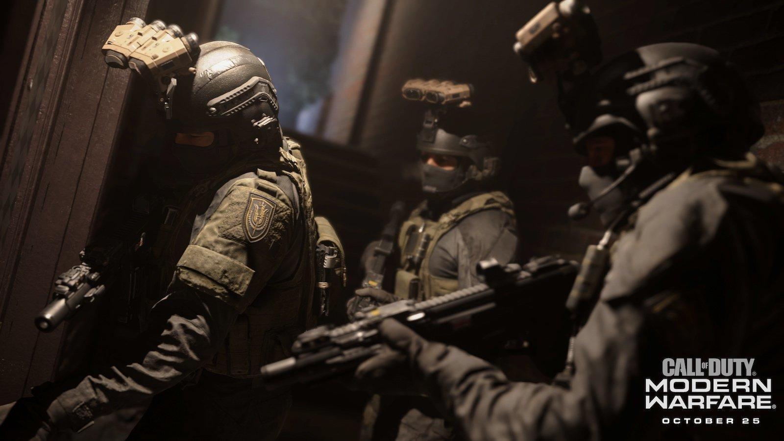 Call of Duty: Modern Warfare dostává launch trailer
