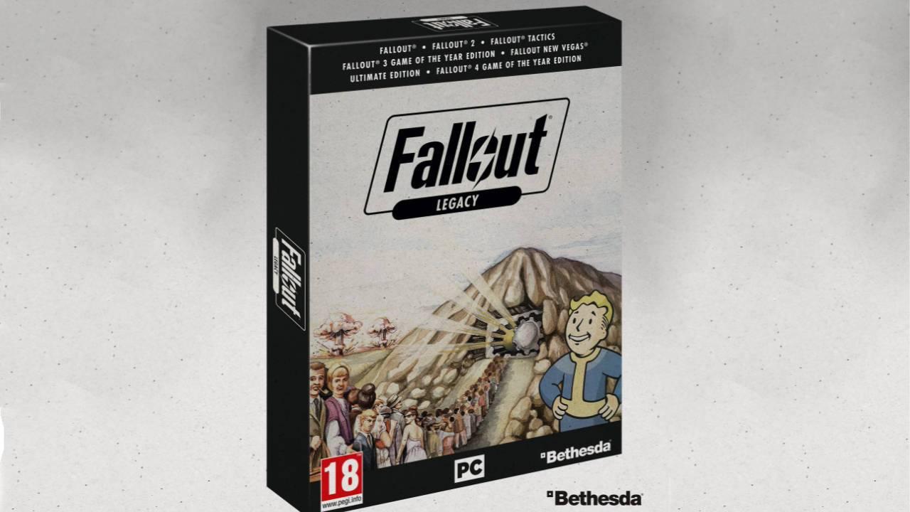 Oznámena edice Fallout Legacy, avšak pouze pro dvě země