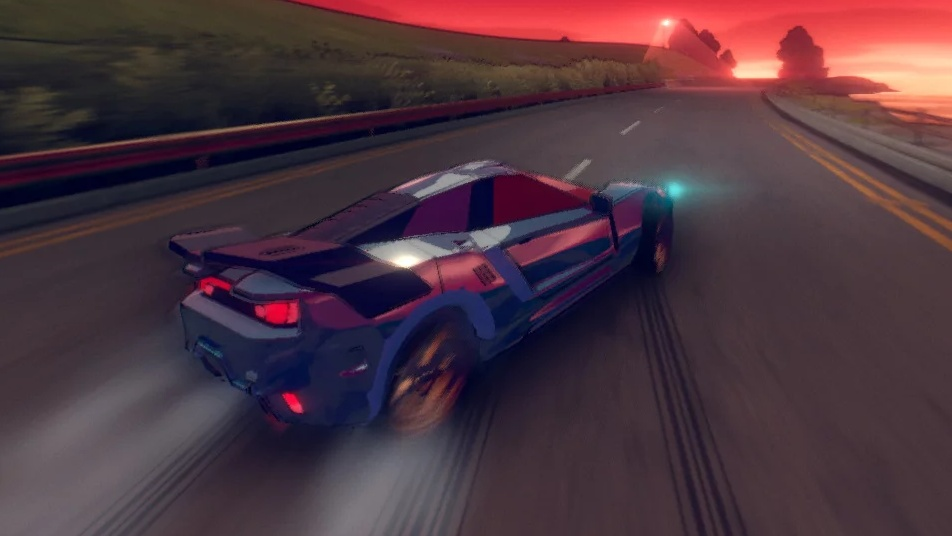 Představena hra Inertial Drift