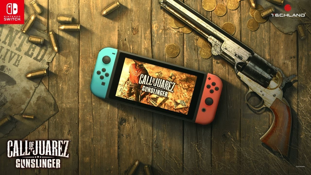 Call of Juarez: Gunslinger míří na Nintendo Switch