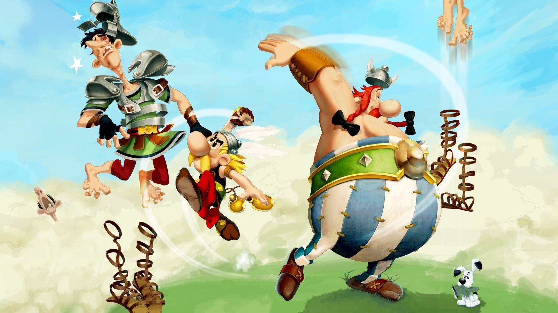 Asterix & Obelix XXL3: The Crystal Menhir dostal launch trailer