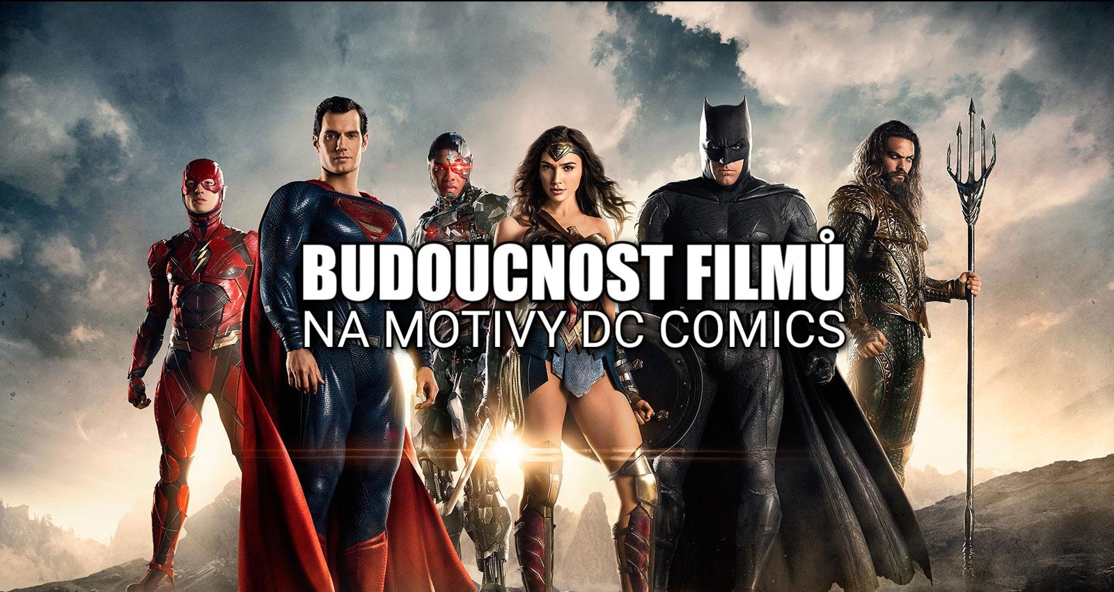 Jaká je budoucnost filmů od DC v podání Warner Bros.?