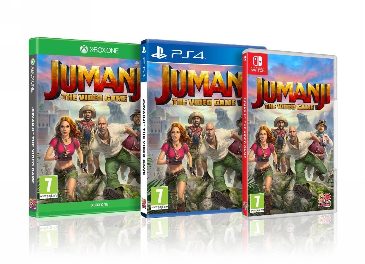 Jumanji: The Video Game právě v prodeji