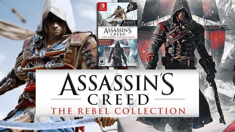 Assassins Creed The Rebel Collection pro Nintendo Switch vyjde již příští týden