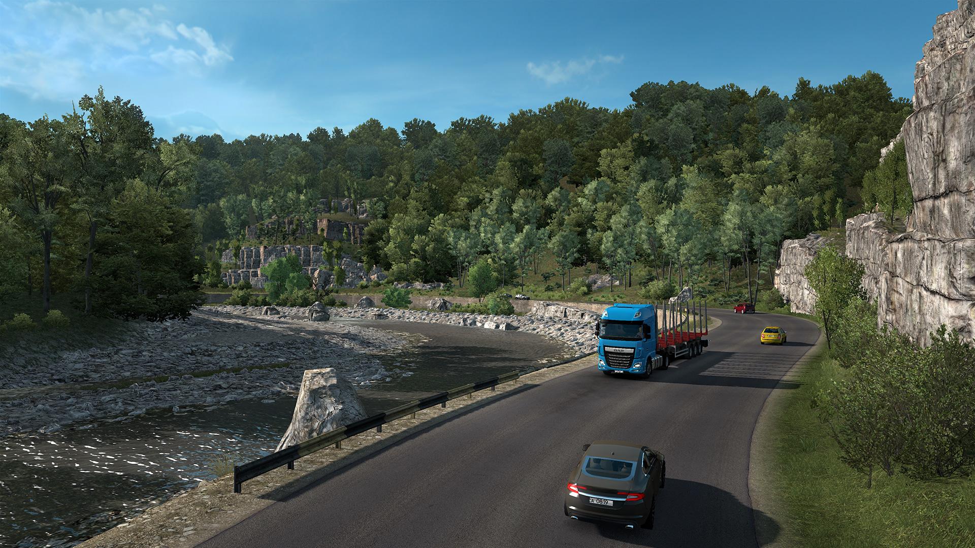 Euro Truck Simulator 2 Cesta k Černému moři vyjde v průběhu několika týdnů