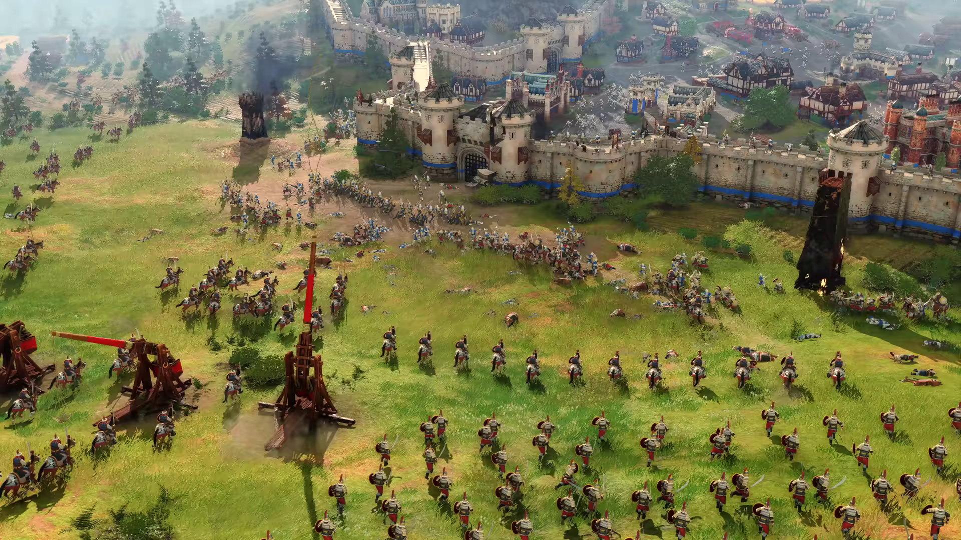 Age of Empires IV v prvním gameplay videu + AoE2 Remastered právě v prodeji