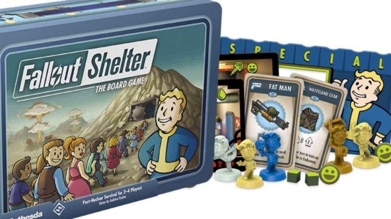 Představena desková hra Fallout Shelter
