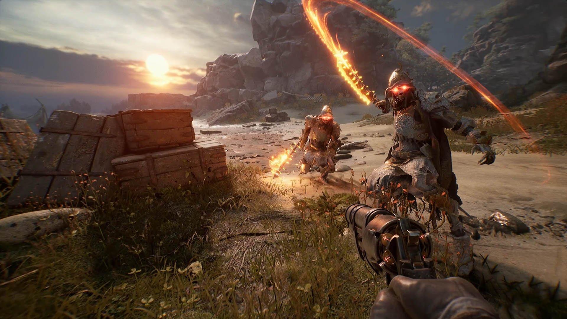 Akční hra na lovce čarodějnic, Witchfire, se připomíná novou ukázkou