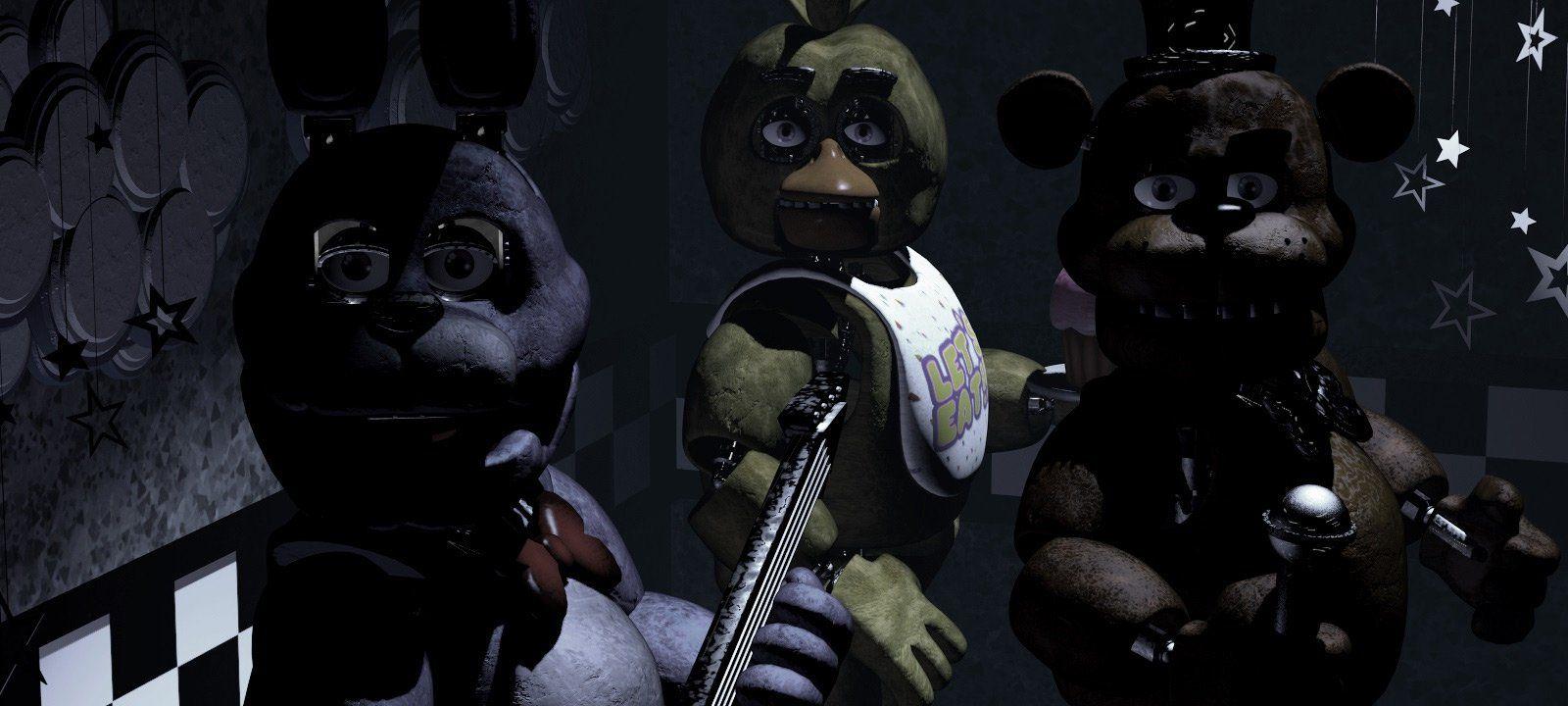 Vyšli konzolové verze prvních 4 dílů série Five Nights at Freddy's