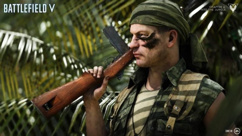 Představena kapitola Into the Jungle pro Battlefield V